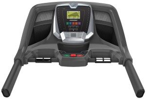 horizon treadmill console