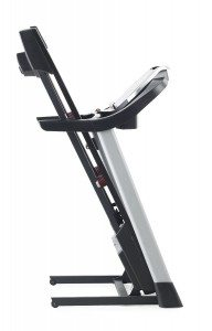 proform cst treadmill folding up
