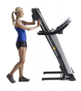 golds gym trainer 720 treadmill storing