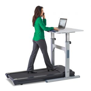 lifespan treadmill desk in action
